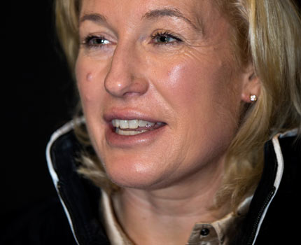 <b>Jessica Kürten</b>, hoppryttare för Irland: - 125322