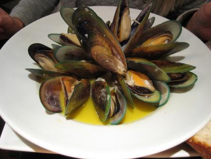 grönläppad mussla för människor