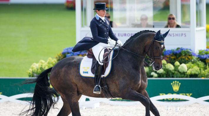 Tinne Vilhelmson Silfvén hade en strålande Grand Prix Special på gång e39e33af1f828