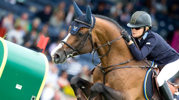 Malin Baryard Johnsson på Tornesch låg bäst till av svenskarna efter  tidshoppningen. FOTO  Tomas Holcbecher 5868e43b6e15a