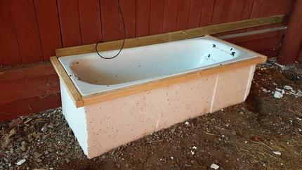 bygga eget badkar