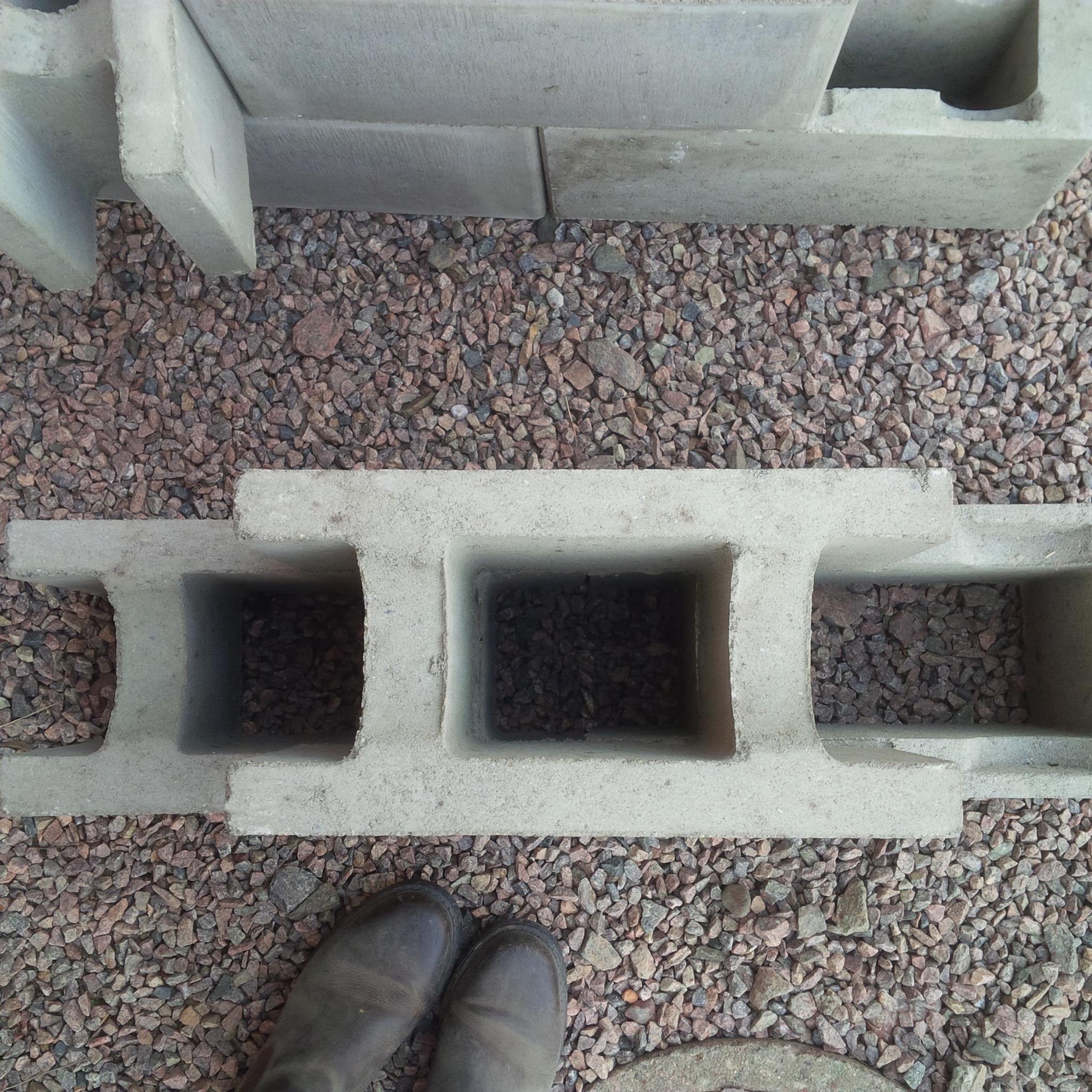 mura med betong