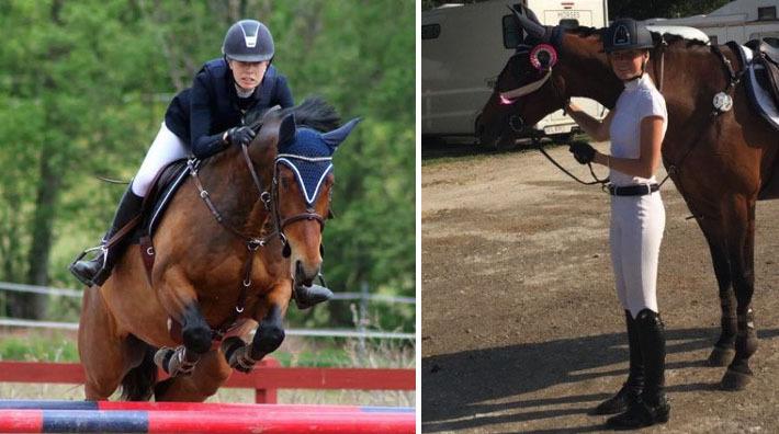 """Saga Eklund: """"Jag gör gärna resan upp i klasserna med hästarna"""""""