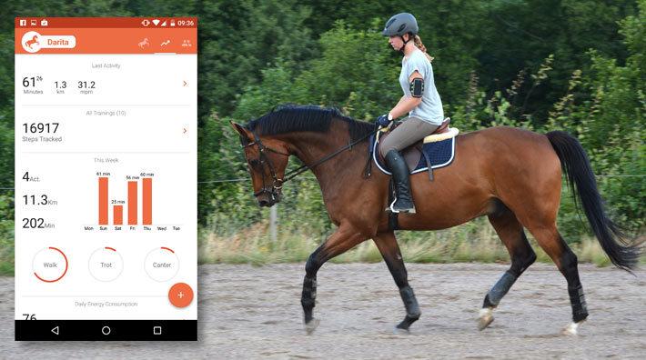 Nya svenska appen mäter din ridning – som ett Runkeeper för ryttare